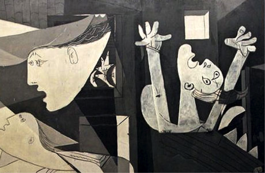 Detail from Guernica